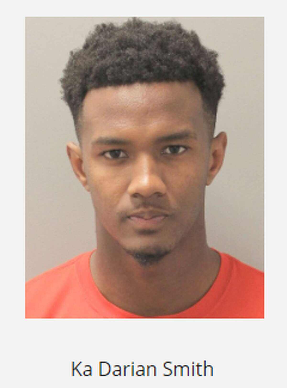 University of Houston cornerback Ka'Darian Smith was arrested and charged with aggravated assault on Nov. 6, 2019.