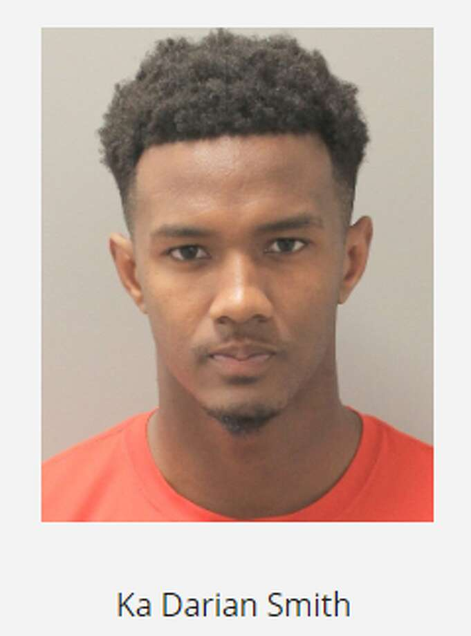 University of Houston cornerback Ka'Darian Smith was arrested and charged with aggravated assault on Nov. 6, 2019. Photo: Houston Police Department