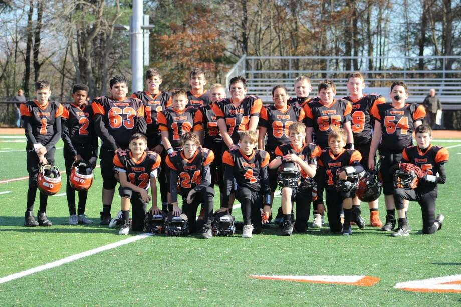 The undefeated sixth grade Shelton Vikings are facing Wallingford in the finals on Sunday, Nov. 17, in Cheshire. Photo: Contributed Photo / / Connecticut Post