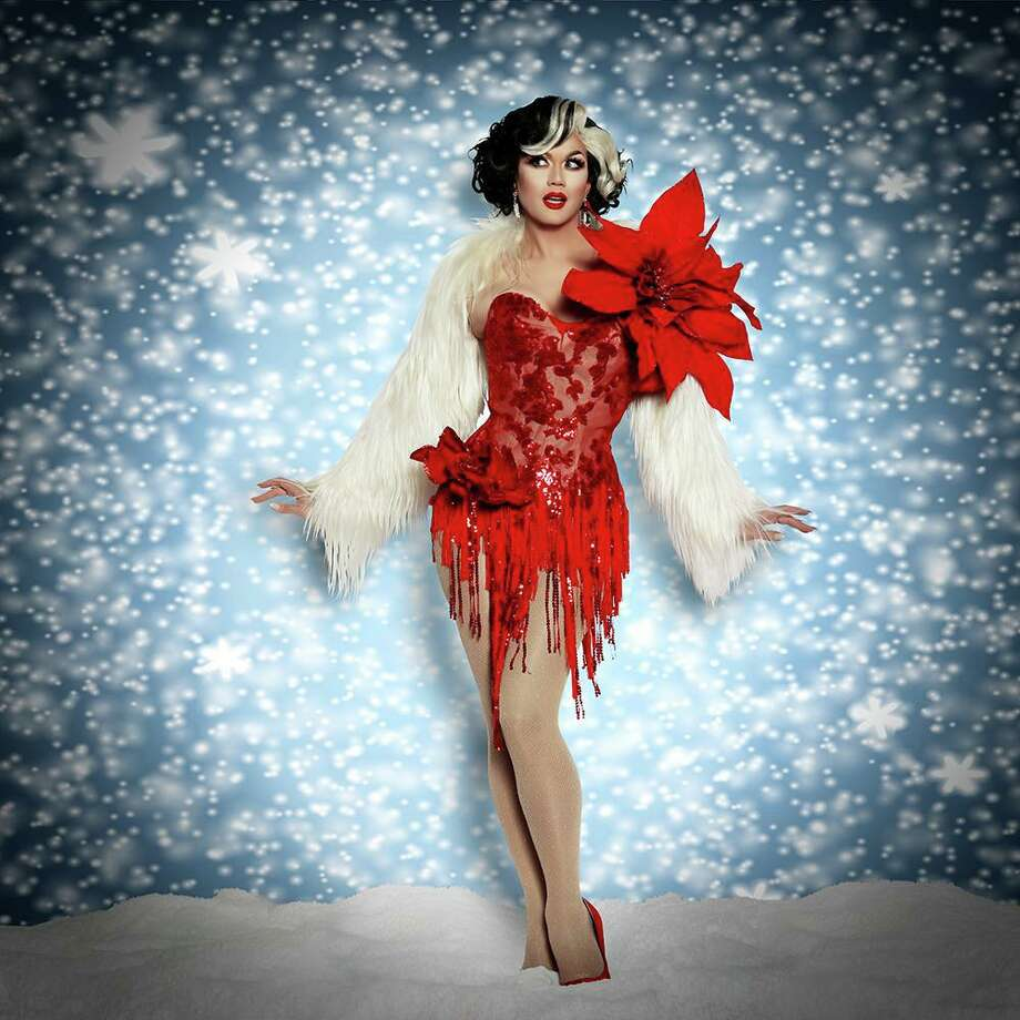 "Manila will be among the entertainers when ""A Drag Queen Christmas — The Naughty Tour"" comes to College Street Music Hall in New Haven, Nov. 25. Photo: Contributed Photo"