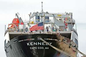 The TS Kennedy.
