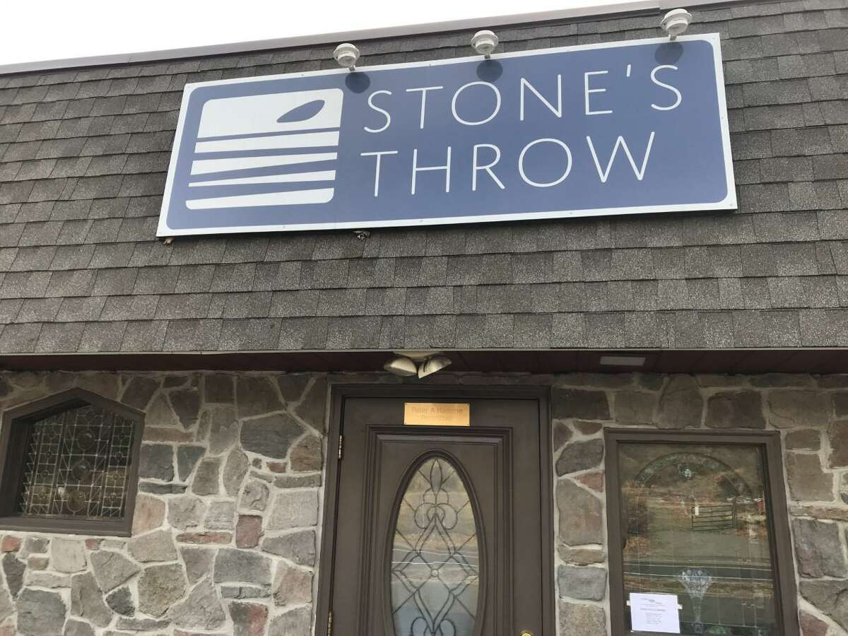 The Stone's Throw Restaurant in Seymour has been identified as being at risk for flooding or being destroyed by surging floodwaters if the dam at Great Hill Reservoir were to break. The restaurant is near where Fourmile Brook, which is fed by water from the reservoir, empties into the Housatonic River.