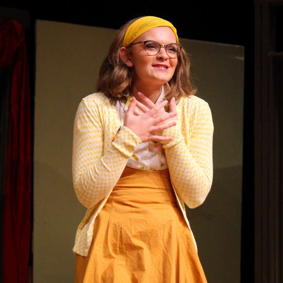 Benzie Central High School students perform 'The Curious Savage' on Nov. 8. Photo: Robert Myers