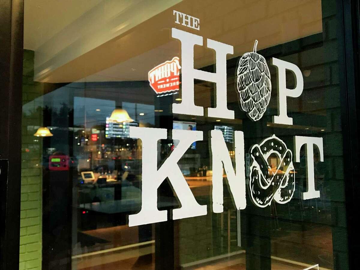 The Hop Knot craft pretzel and beer bar in Hamden