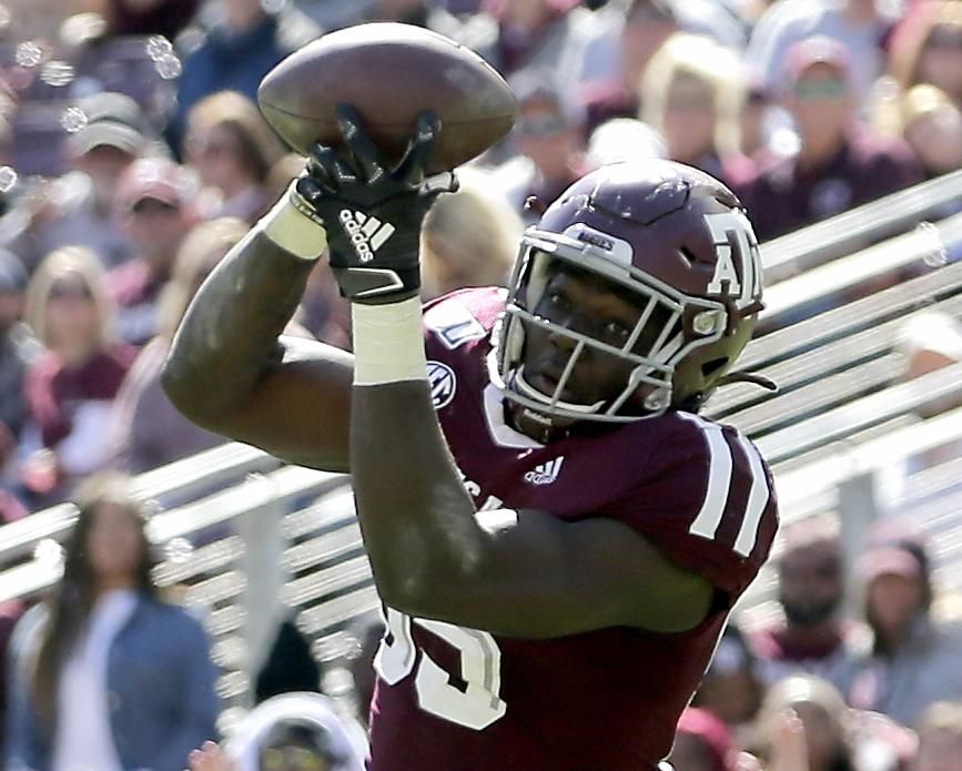 A&M youngsters maturing by the week