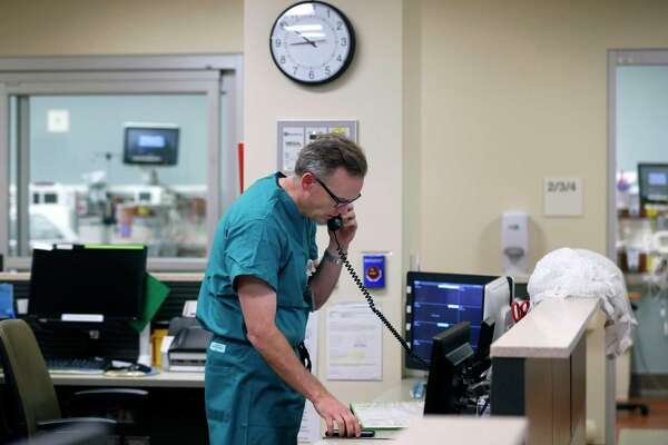 Neonatal physician Dr. Scott Witt returns to work at Sutter Santa Rosa Regional Hospital. A new Texas Medical Center survey challenges the certainty of a looming physician shortage in the United States.