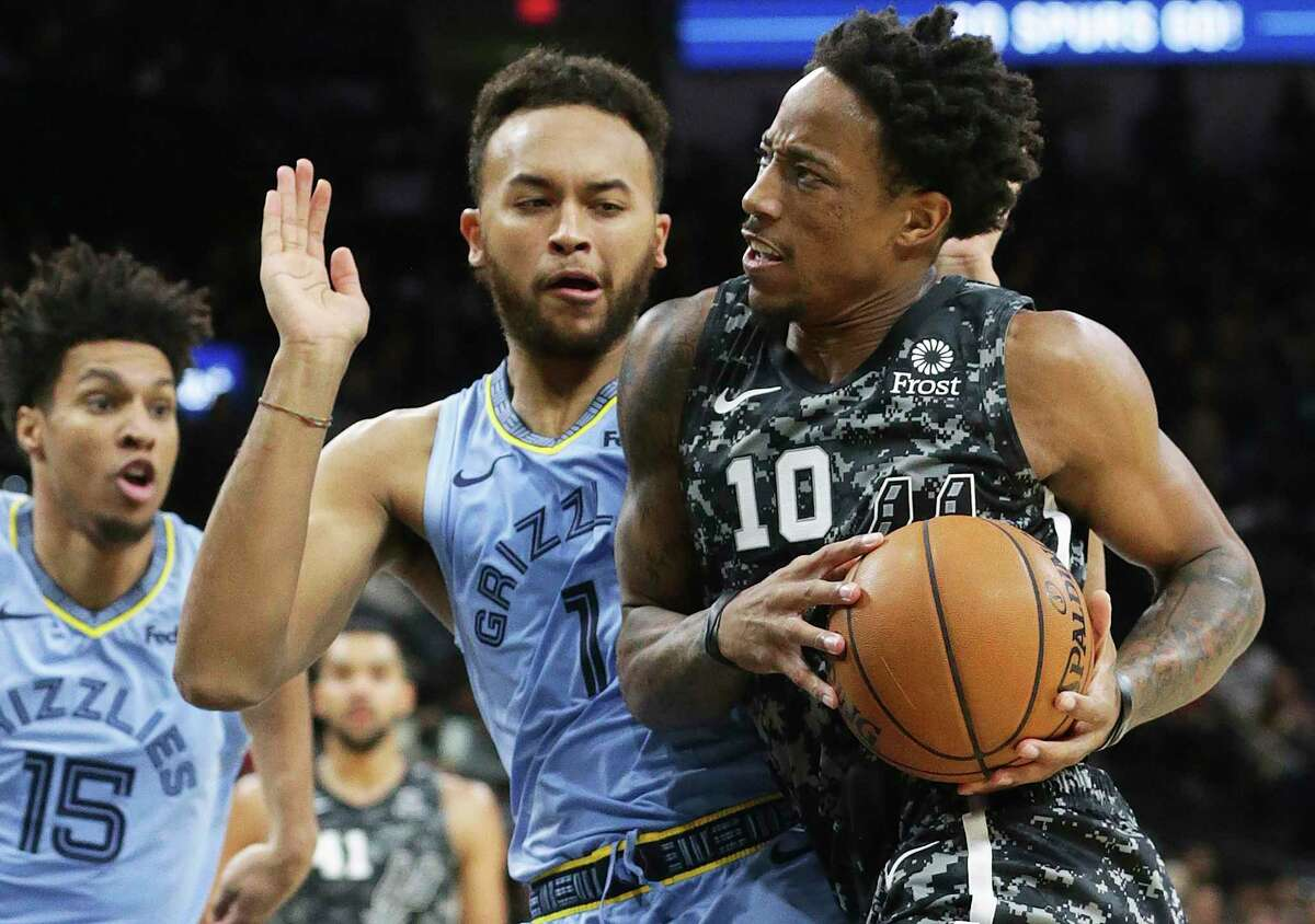 """DeMar DeRozan says that """"whatever the odds, whatever the percentages may be, we can't feed into that. We just have to go out there and compete."""""""