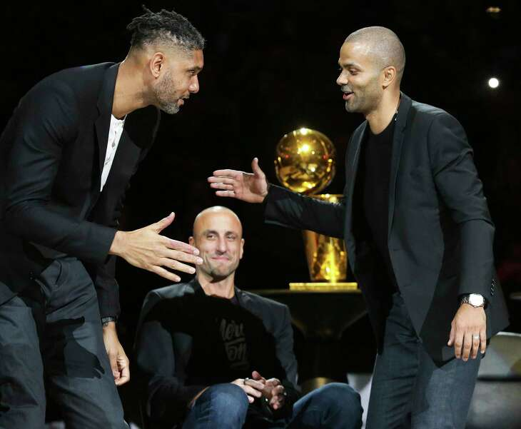 the Spurs host the Grizzlies on the night of the Tony Parker jersey retirement ceremony at the AT&T Center on Nov. 11, 2019.