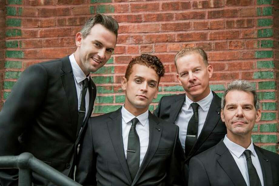 "The Midtown Men include Christian Hoff, Michael Longoria, Daniel Reichard and J. Robert Spencer, who performed in the original Broadway production of ""Jersey Boys."" The Midtown Men will perform at the Midland Center for the Arts Thursday, Nov. 14. (Photo provided)"