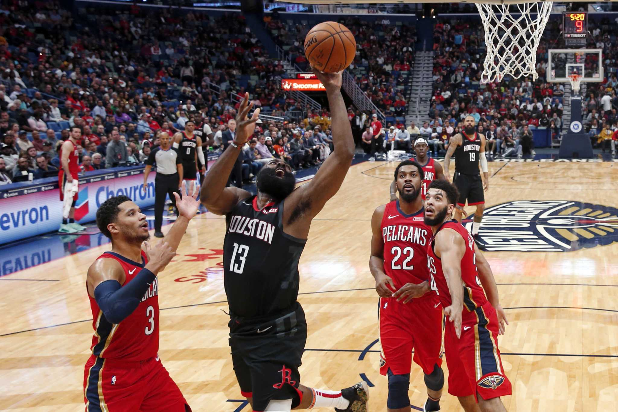 3-pointers: Takeaways from Rockets' win over Pelicans