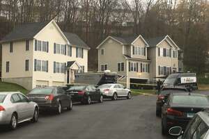 """There is a heavy police presence on Apollo Road on Tuesday morning on Nov. 12, 2019. Bethel police and the State Police Major Crime Squad are on the scene. """"There's an ongoing investigation,"""" Capt. Stephen Pugner said. He did not release details."""