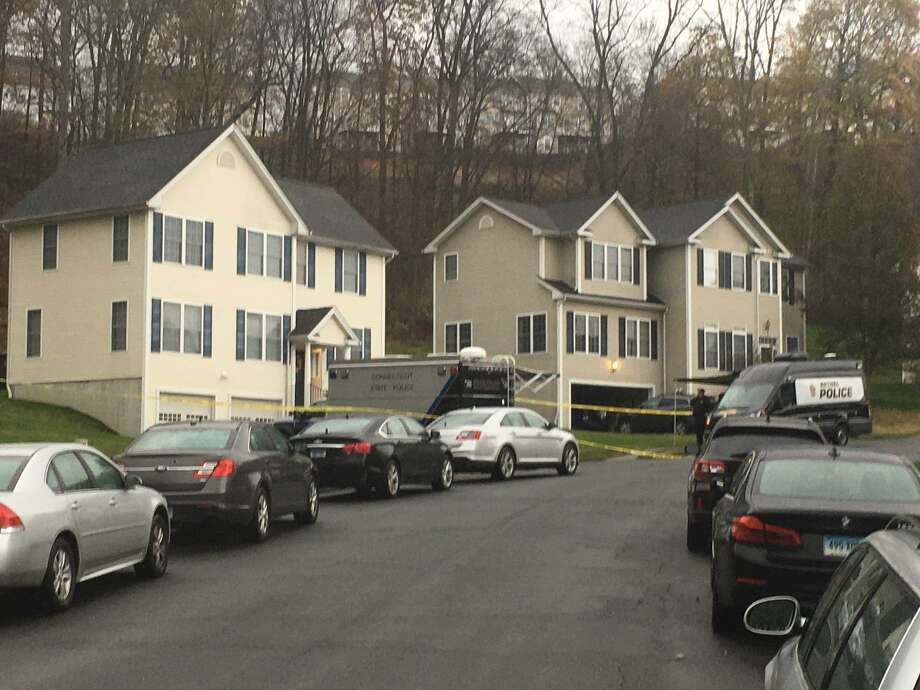 "There is a heavy police presence on Apollo Road on Tuesday morning on Nov. 12, 2019. Bethel police and the State Police Major Crime Squad are on the scene. ""There's an ongoing investigation,"" Capt. Stephen Pugner said. He did not release details. Photo: Peter Yankowski /Hearst Connecticut Media"