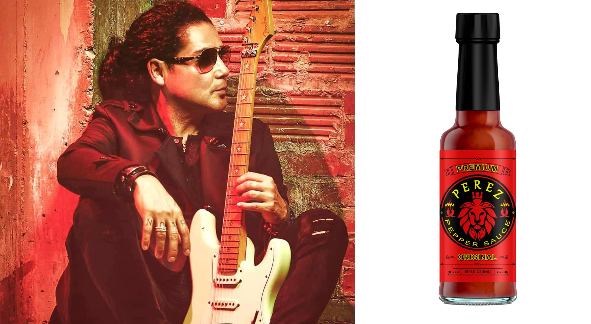Chris Perez is releasing his own brand of hot sauce