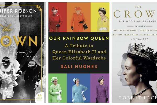 The Gown; Our Rainbow Queen: A Tribute to Queen Elizabeth II and Her Colorful Wardrobe; The Crown: The Official Companion, Volume 2: Political Scandal, Personal Struggle, and the Years that Defined Elizabeth II (1956-1977)