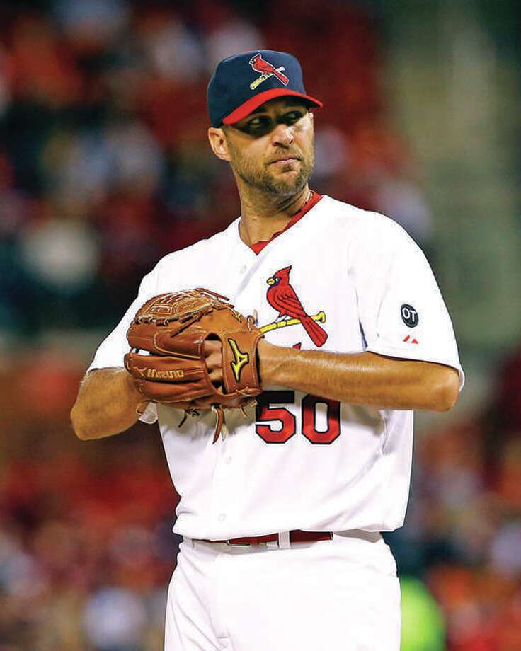 Adam Wainwright, who was a free agent, has agreed to a one-year contract with the Cardinals, the team announced Tuesday. Photo: File Photo