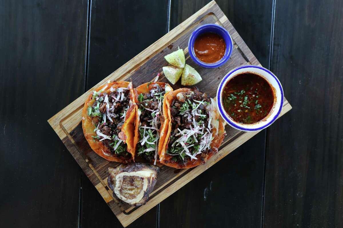 Tacos Birria de Res at Candente