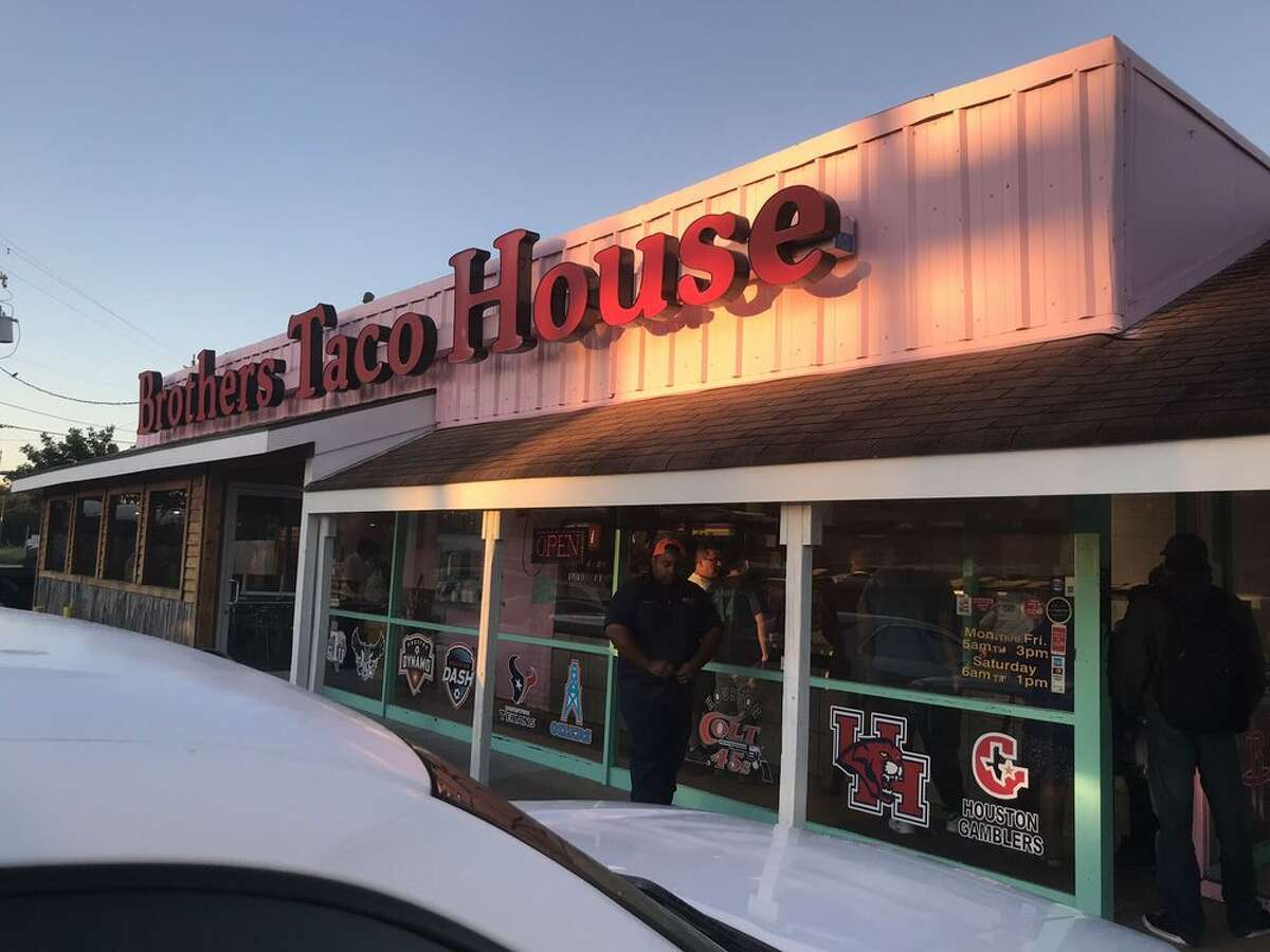 Brother's Taco House1604 Dowling Street, HoustonSakeena S' review: Easily the best breakfast tacos that I've had in Houston!...It's a small place so the tables fill up quickly and there is almost always a long line. It's definitely worth the wait though. Photo by: Patrick H/Yelp