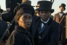 "Cynthia Erivo plays Harriet Tubman in the new film ""Harriet."""