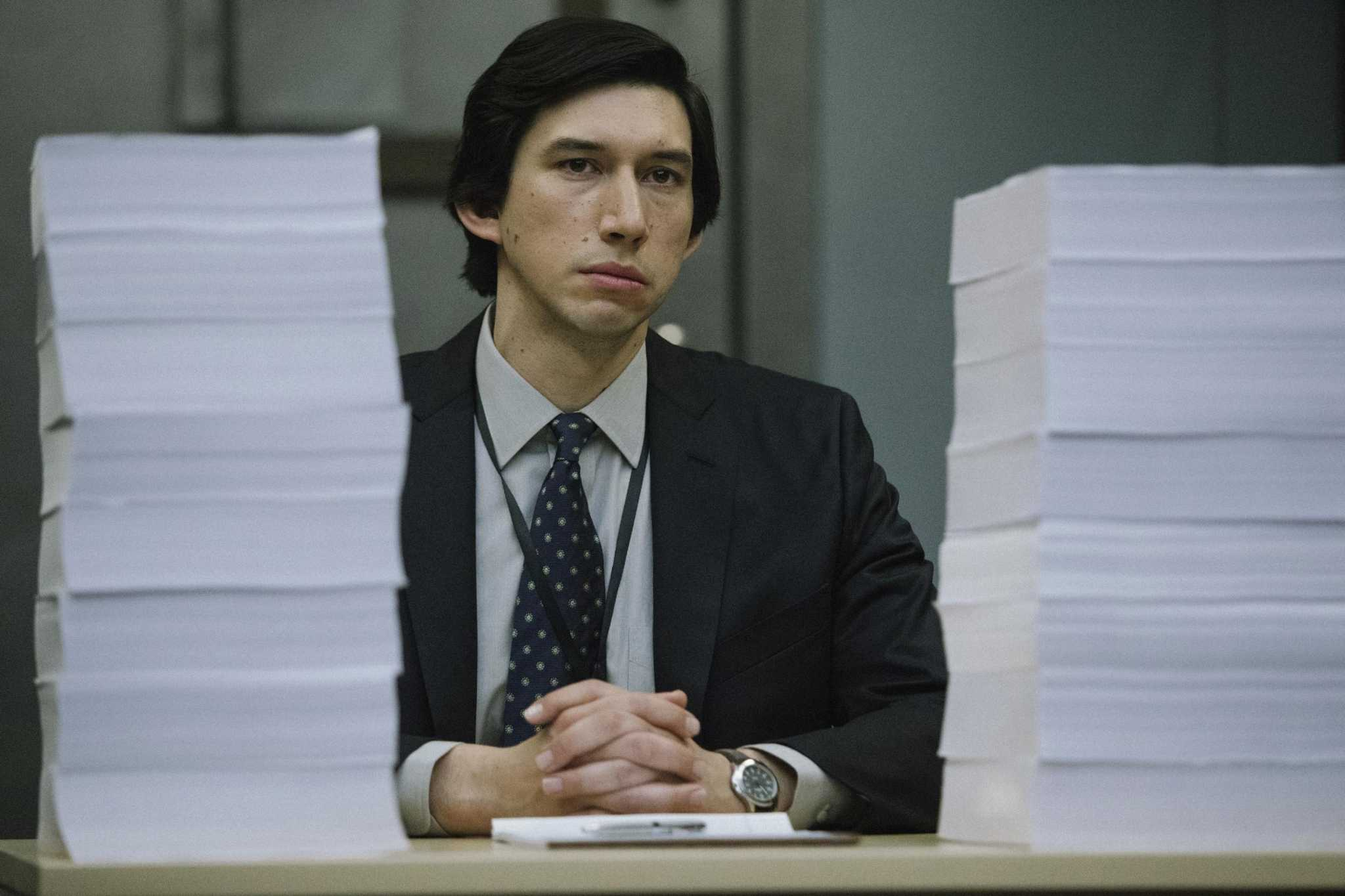 'The Report,' with Adam Driver, is about as dry as its name