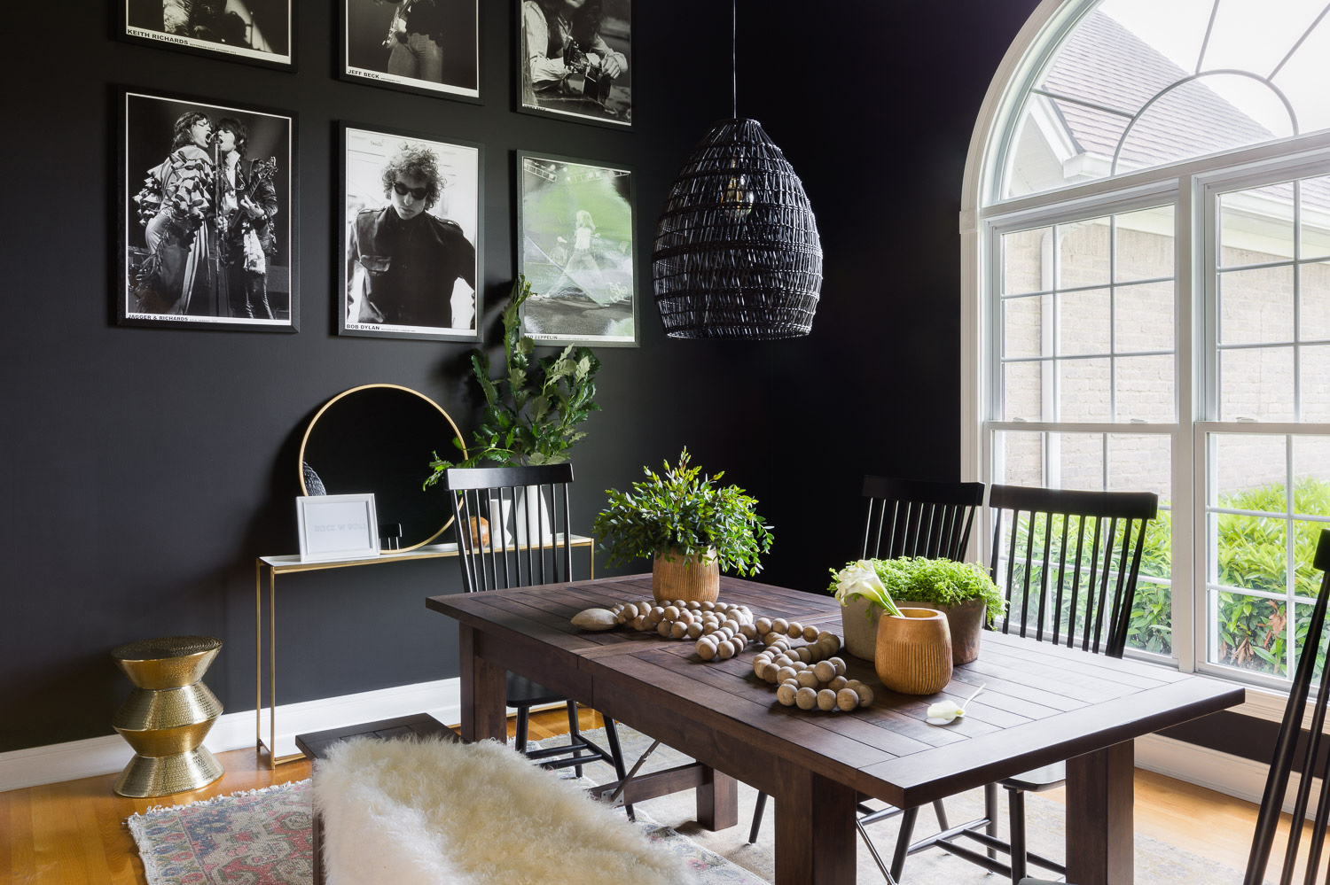 Ready for the new neutral room color? It's black.