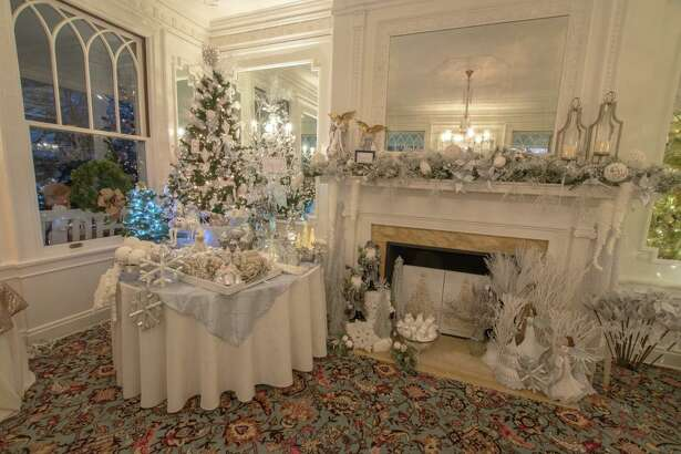 Lounsbury House, 316 Main St., Ridgefield will host a Champagne Preview Party for their 19th Biennial Holiday Tree Festival on Thursday, Nov. 14, beginning at 6:30 p.m. The festival runs Nov. 15-17.