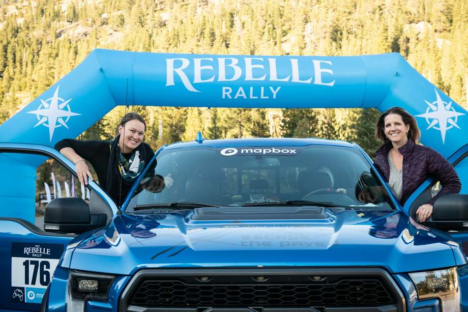 Last month's Rebelle Rally was the second time for Lindsey Hunter (left) and Sarah Homer. Photo: Courtesy Of Rebelle Rally