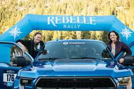 Last month's Rebelle Rally was the second time for Lindsey Hunter (left) and Sarah Homer.
