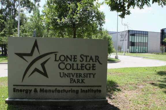 The Energy and Manufacturing Institute building on the west side of the Lone Star College - University Park campus is closed due to flooding.