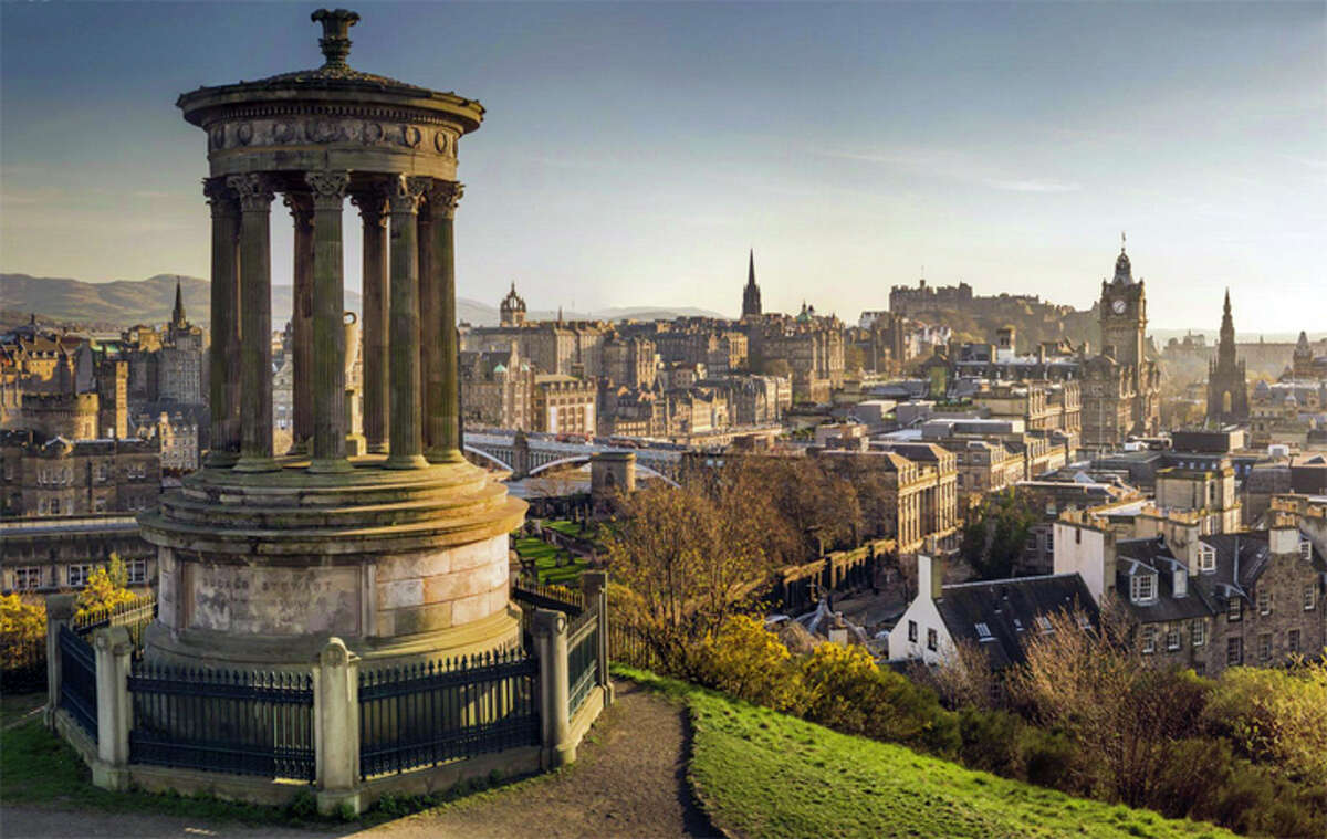 Ranked number one among cities worldwide for senior travelers is Edinburgh, Scotland.