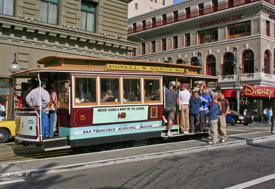 San Francisco ranks tops in public transport for senior travelers. Photo: Jim Glab