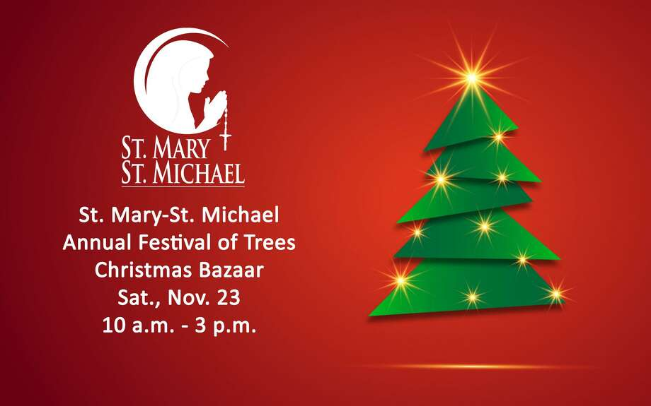 St. Mary-St. Michael School in Derby will host its annual Festival of Trees Christmas Bazaar on Saturday, Nov. 23, from 10 a.m.-3 p.m. Photo: Contributed Photo.