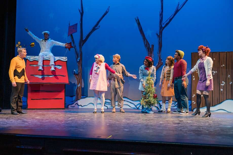 """The Magik Theatre company will perform its reprised version of the much-adored holiday special """"A Charlie Brown Christmas"""" at the Empire Theatre and on its own stage, providing the community with a total of 12 shows in December. Photo: The Magik Theatre"""
