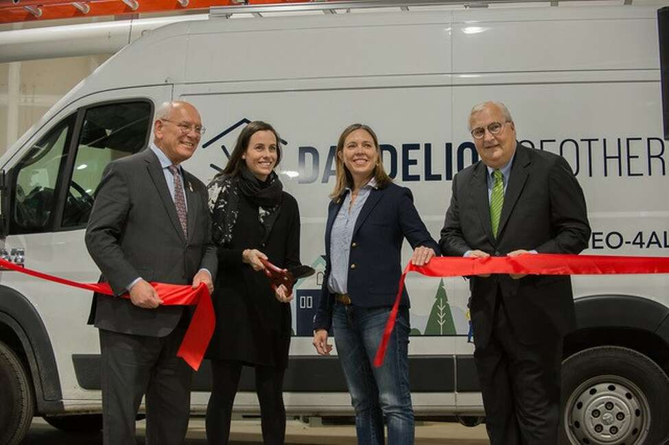 Dandelion Energy, a residential geothermal company, celebrated the expansion of its Capital Region Operations Center in Latham with a clean energy rally on Saturday Nov. 9, 2019. Rep. Paul Tonko and Alicia Barton, President and CEO of NYSERDA were joined by local clean energy advocates and Dandelion staff.