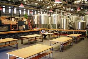 Barebottle Brewing Co.'s taproom in San Francisco's Bernal Heights neighborhood.