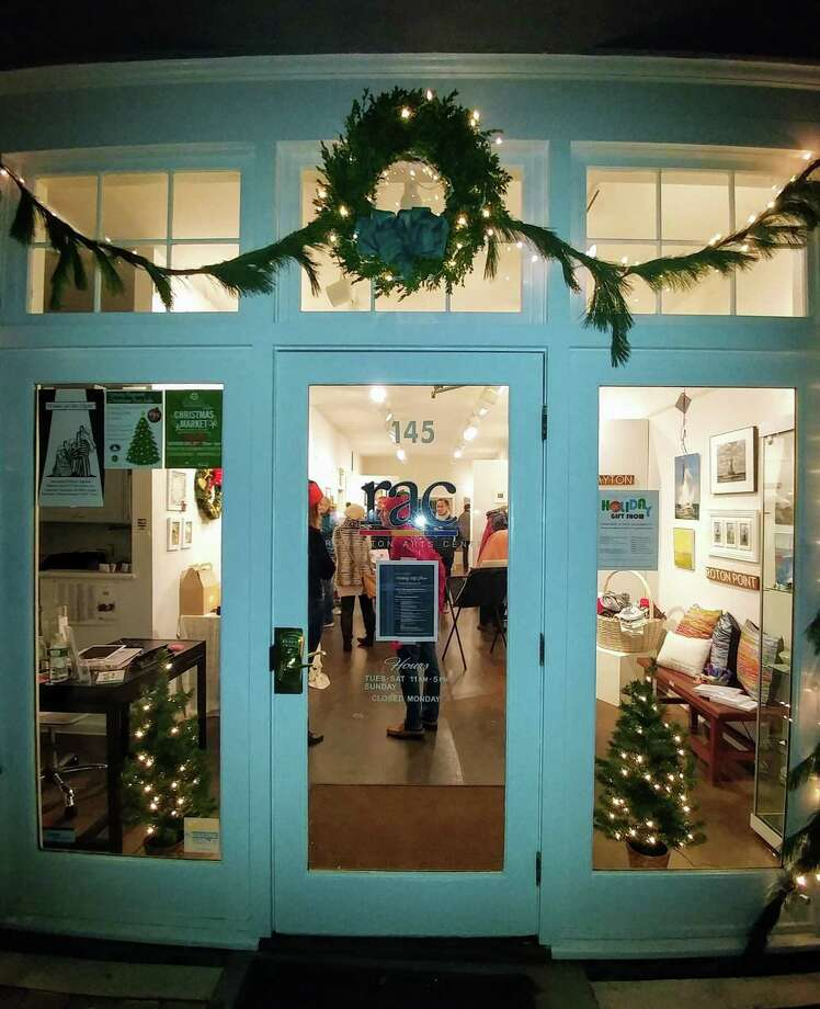The Rowayton Arts Center gallery in Norwalk will be hosting its annual Holiday Gift Show November 29 to December 24. Visitors will be able to shop for one-of-a-kind gifts by local artists, with proceeds supporting RAC and its educational outreach. Photo: RAC / Contributed Photo