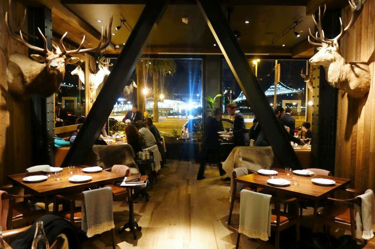The interior of Angler in San Francisco. The restaurant is helmed by Joshua Skenes, the chef behind Saison.