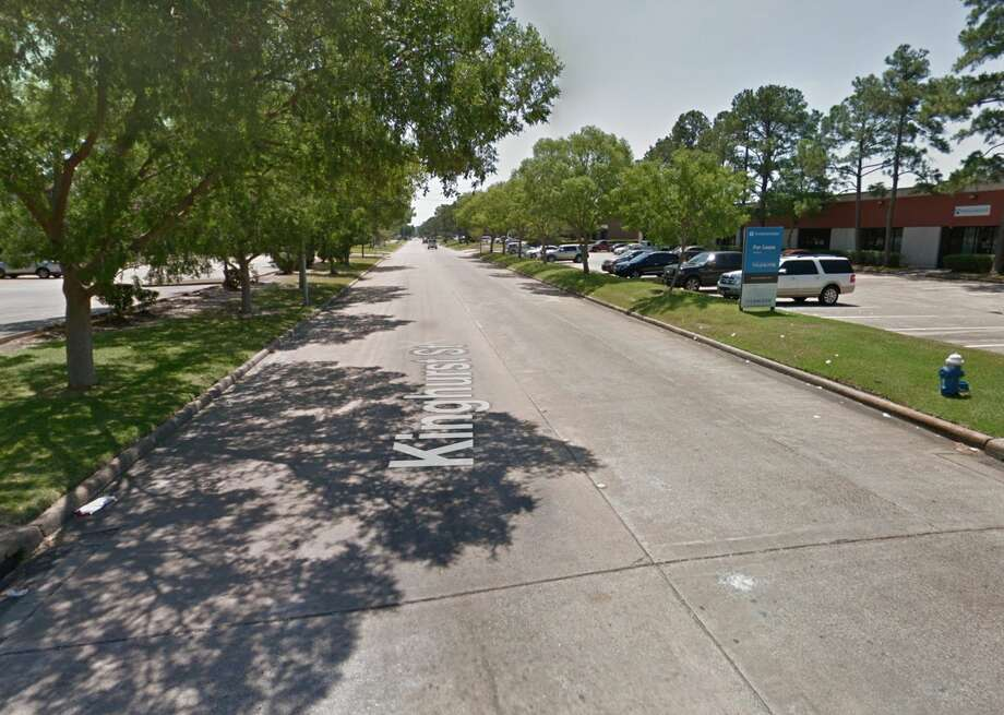 The 10900 block of Kinghurst Drive is seen on Google Maps Street View in May 2018. Photo: Google Maps