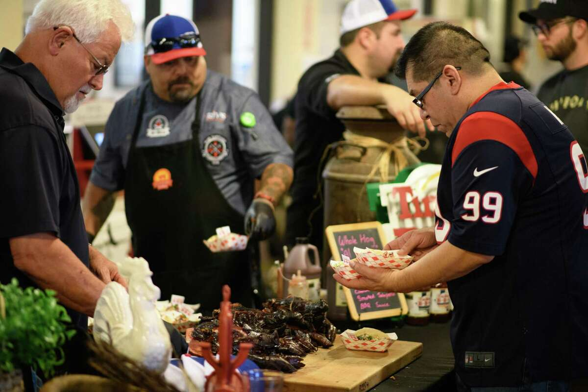 The Houston Barbecue Festival and Saint Arnold Brewing Company host the 3rd Annual HOU-ATX BBQ Throwdown.