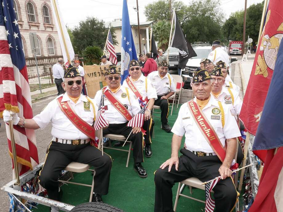 Laredo's Veterans were celebrated at a variety of events throughout the Gateway City. Photo: Cuate Santos/Laredo Morning Times