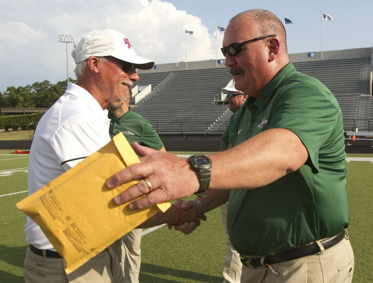 Spring football has been a part of Jim Rapp's 30 years in coaching at The Woodlands.