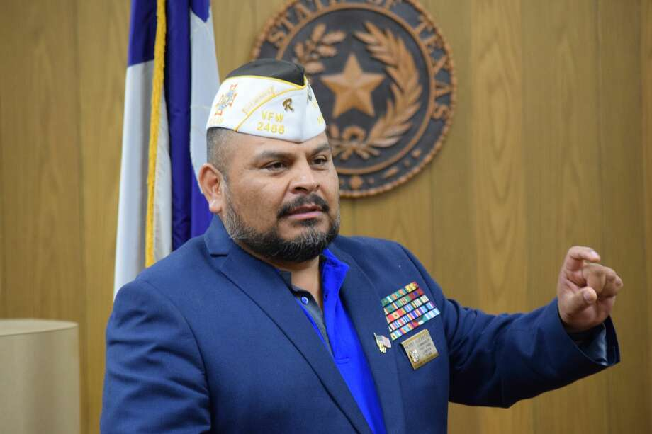 Benny Guerrero served 13 tours with the United States Marines. Photo: Ellysa Harris/Plainview Herald