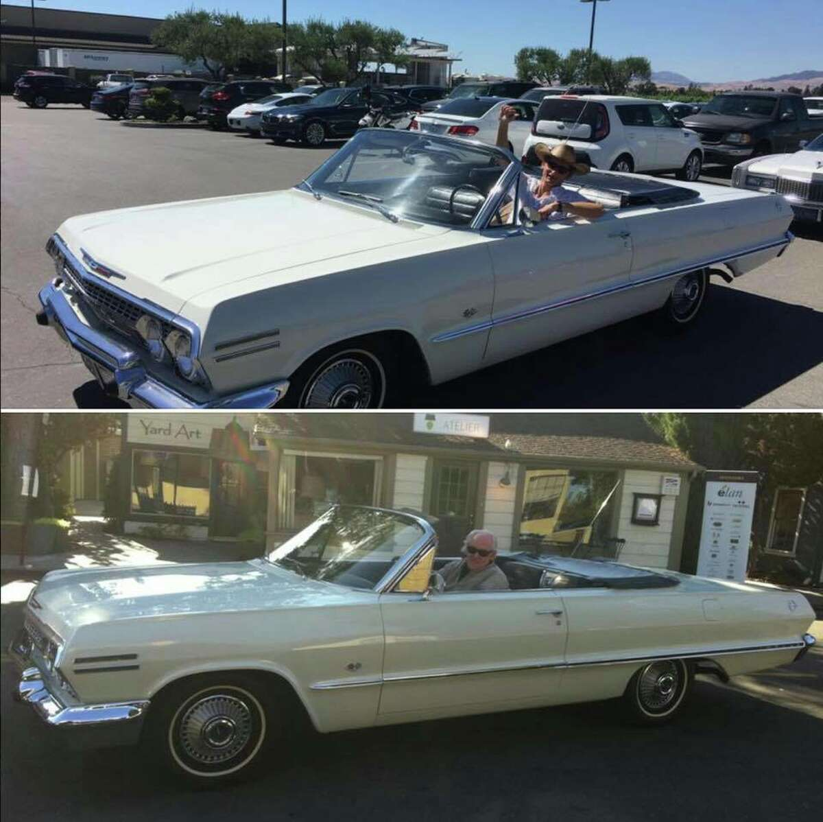 Don Watson's 1963 Chevy Impala was stolen Saturday from a gated area at the Goodguys Rod & Custom Association