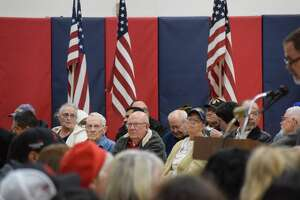 Local veterans were recognized on Monday during a special program at Estacado Middle School.