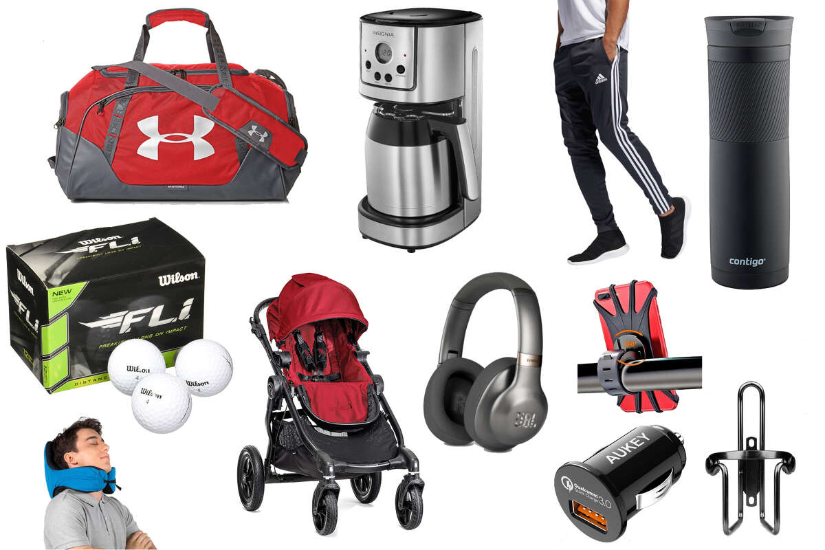 Under Armour duffel bags for $29.99, $67 JBL wireless headphones and an $8 Contigo travel mug are among the best deals we've seen this week.