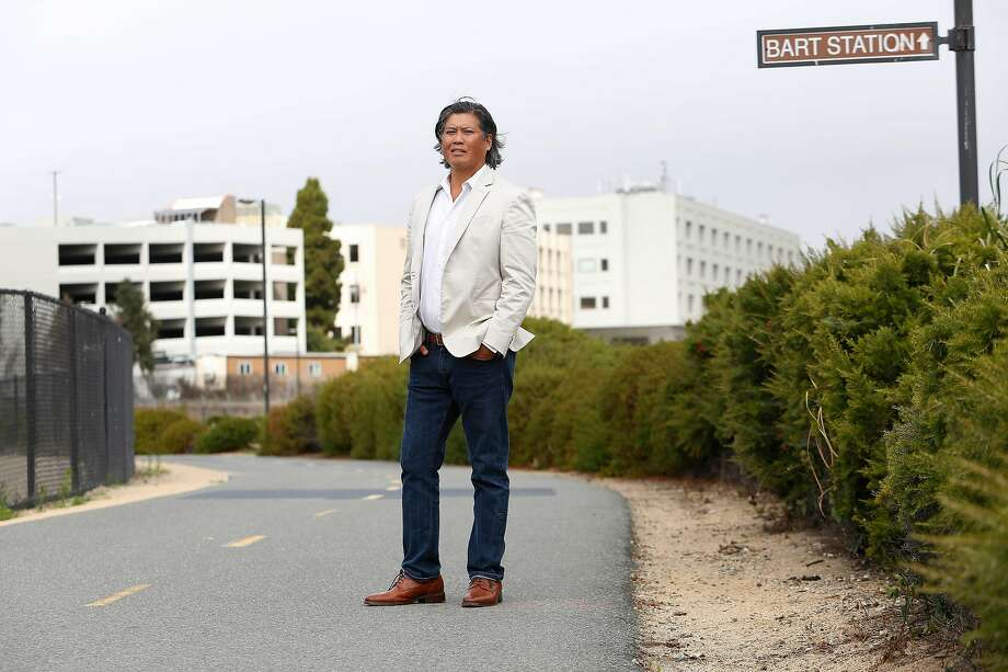 Eric Tao, managing partner L37 Partners, stands for a portrait on a development site in South San Francisco on Wednesday, August, 28, 2019 in South San Francisco, CA. Photo: Lea Suzuki / The Chronicle