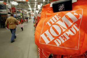 Atlanta-based Home Depot, as seen in this file photo, is considering Conroe for a possible new $51.3 million distribution center near the former Conroe Creosoting Company site off Texas 105 just east of downtown.
