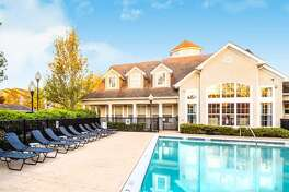 A view of the pool at the Grand Reserve Orange, which is located on Prindle Hill Road. The luxury apartment complex has been sold for $35 million.