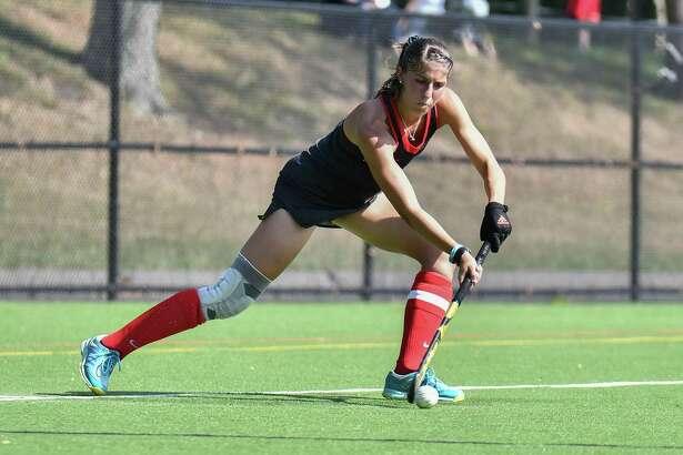 Danielle Profita leads NCAA tournament-bound Fairfield field hockey team with 23 points.