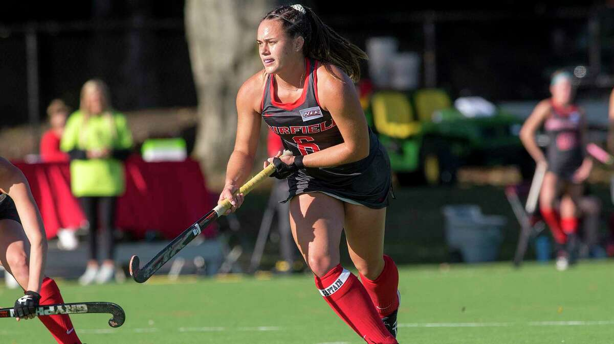 Fairfield field hockey player Emily Halderson has started the last 41 games and is leader of one of nation's top defensive units.