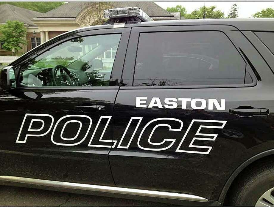 File photo of an Easton, Conn., police cruiser. Photo: Contributed Photo / Easton Police Department / Connecticut Post Contributed